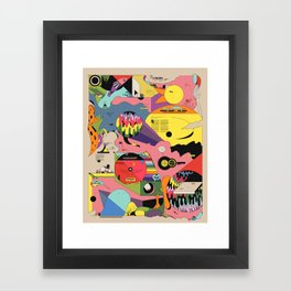 Climate Jazz Framed Art Print