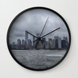 Lower Manhattan Wall Clock
