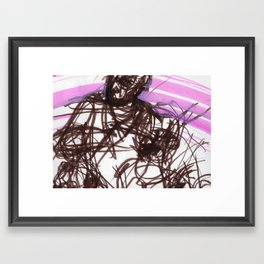 hatin Framed Art Print