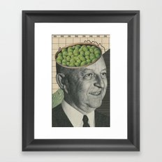 Son Of Pea Brain Framed Art Print