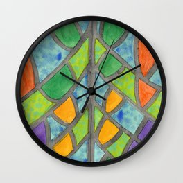 Butterfly Wing Pattern Wall Clock