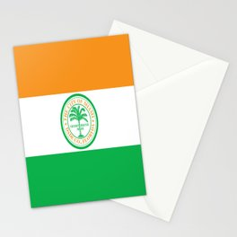American cities-  Flag of Miami Stationery Cards