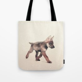 Little Ones: Wolf Tote Bag