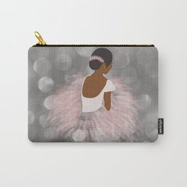 African American Ballerina Dancer Carry-All Pouch