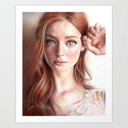 Starry-eyed Art Print