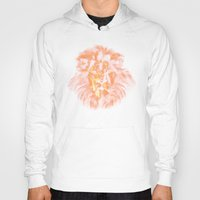 lion king Hoodies featuring lion king by osvaldo