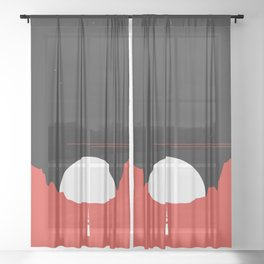 MoonRise Sheer Curtain