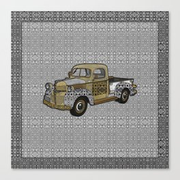Dad's Old Truck Canvas Print