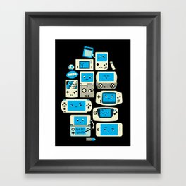 AXOR Heroes - Love For Handhelds Framed Art Print