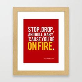 Fire Safety Framed Art Print
