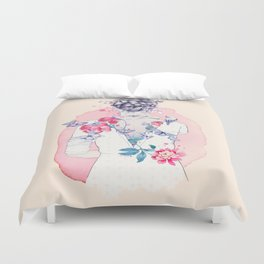 Undress me Duvet Cover