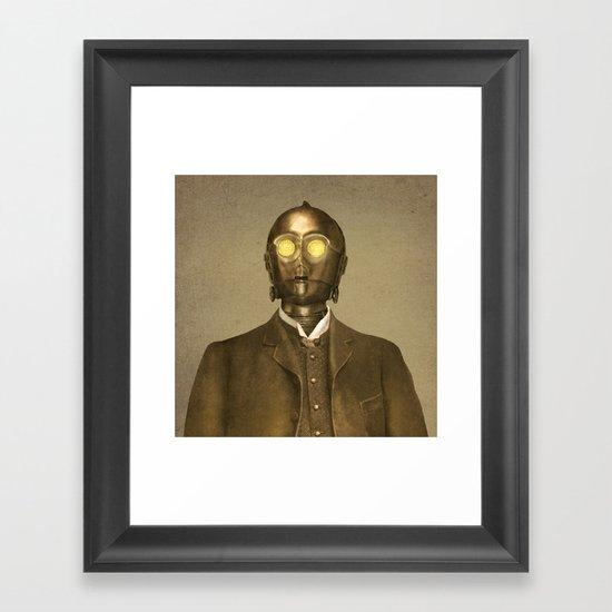 Baron Von Three PO - square format Framed Art Print