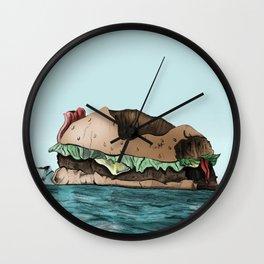 IceBurg-er Wall Clock
