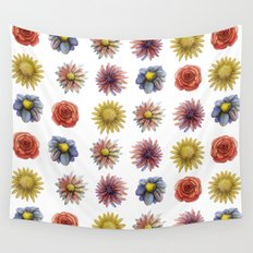flowers! Wall Tapestry