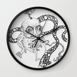 Umbilically Wall Clock