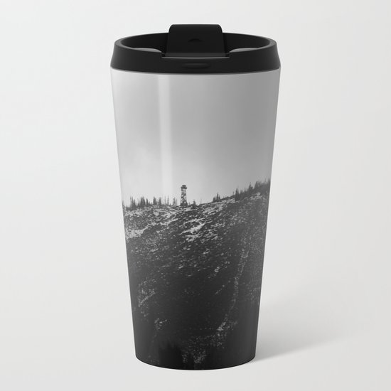 Black Butte Metal Travel Mug