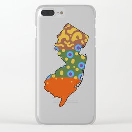 New Jersey Brook Trout Clear iPhone Case