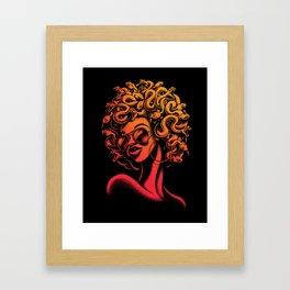 Funky Medusa II Framed Art Print