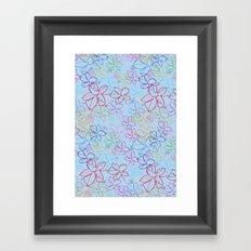 pattren v6 Framed Art Print