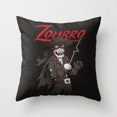 Zombro Throw Pillow
