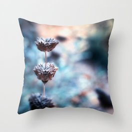 Stages of Beauty Throw Pillow