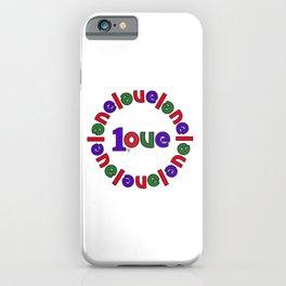 onelove iPhone Case