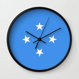 Micronesia country flag Wall Clock