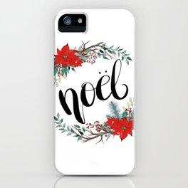 Noel iPhone Case