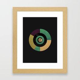 Circle Fibonacci.1 Framed Art Print