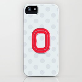 O is for Optimistic iPhone Case
