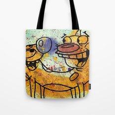 CatDog Tote Bag
