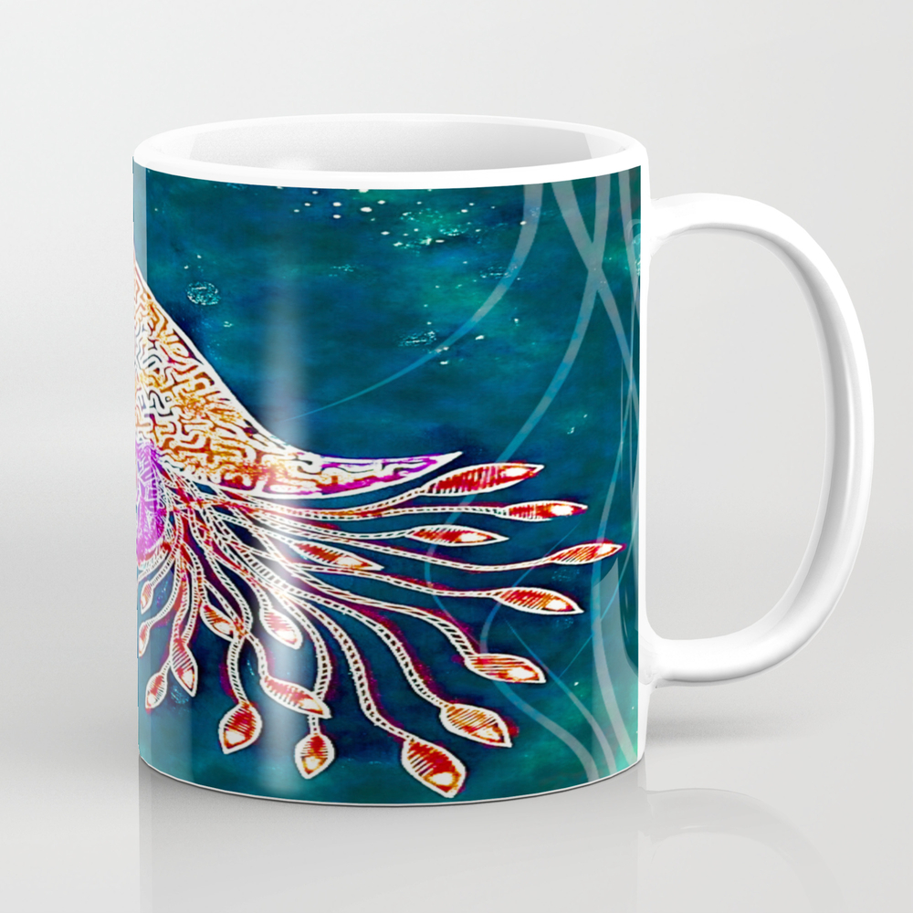 Under The Sea Tea Cup by Rencamzart MUG7993155