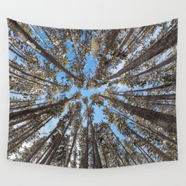 Yellowstone National Park - Lodgepole Forest Wall Tapestry