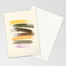 Trees and marshmallow Stationery Cards