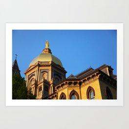 Golden Dome Art Print
