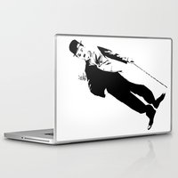 chaplin Laptop & iPad Skins featuring Chaplin by Vee Ladwa