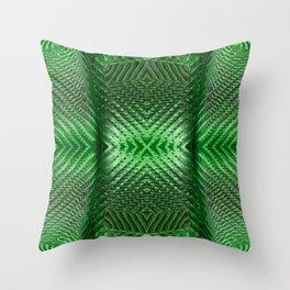 Green Glass 849 Throw Pillow