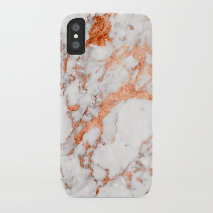 Copper Marble 2 iPhone Case