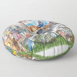 Miyazaki Tribute Floor Pillow