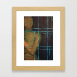 The Divide Framed Art Print