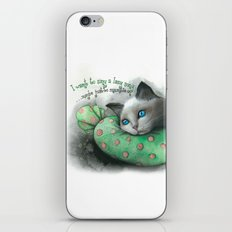 Lazy Cat iPhone & iPod Skin