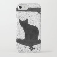 kitty iPhone & iPod Cases featuring Kitty by SensualPatterns