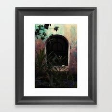 window to where Framed Art Print