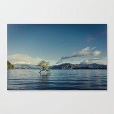 Emerald tree Canvas Print
