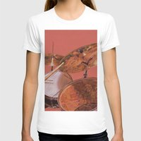 drum T-shirts featuring Drum Set by Peter Beck