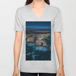 Portugal Coastline Unisex V-Neck