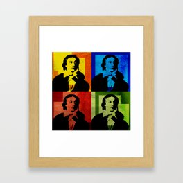 JOHN KEATS, 4-UP POP ART COLLAGE Framed Art Print