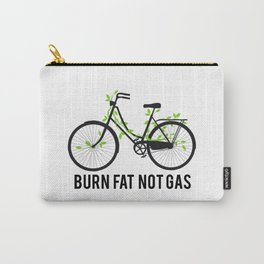 Burn fat not gas Carry-All Pouch