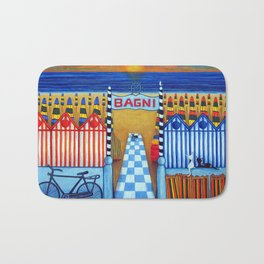 An Italian Summer's End Bath Mat