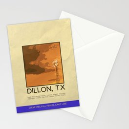 Silver Screen Tourism: DILLON, TX / FRIDAY NIGHT LIGHTS Stationery Cards